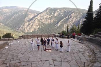 2ο  Διεθνές Θερινό Εργαστήριο Αρχαίου Δράματος από το Εθνικό Θέατρο στους Δελφούς