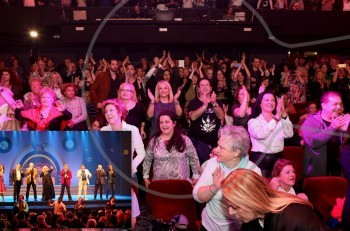 """Η Αγγελική Νικολούλη τους ξεσήκωσε όλους στο """"Πρώτο μας πάρτι"""" @θέατρο Βέμπο"""