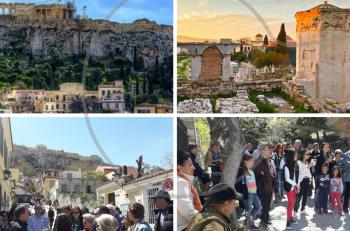 Κυριακάτικος περίπατος στην Πλάκα: μια Άνοιξη γεμάτη ιστορίες αγάπης