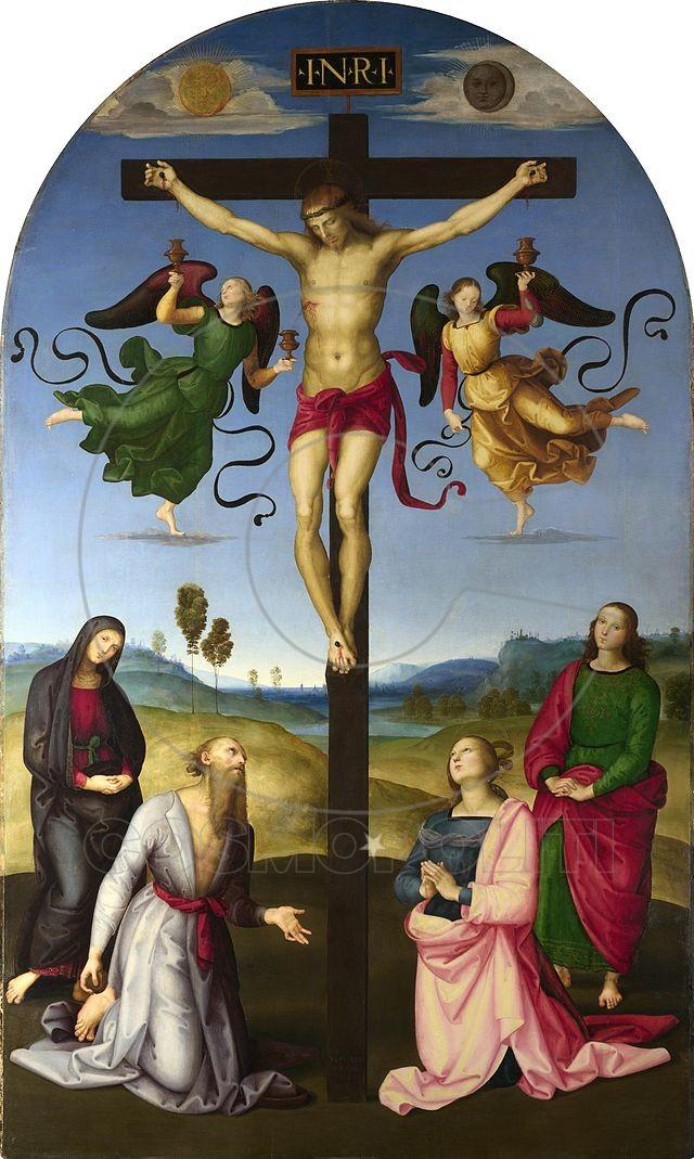 1_Raphael, Mond Crucifixion.