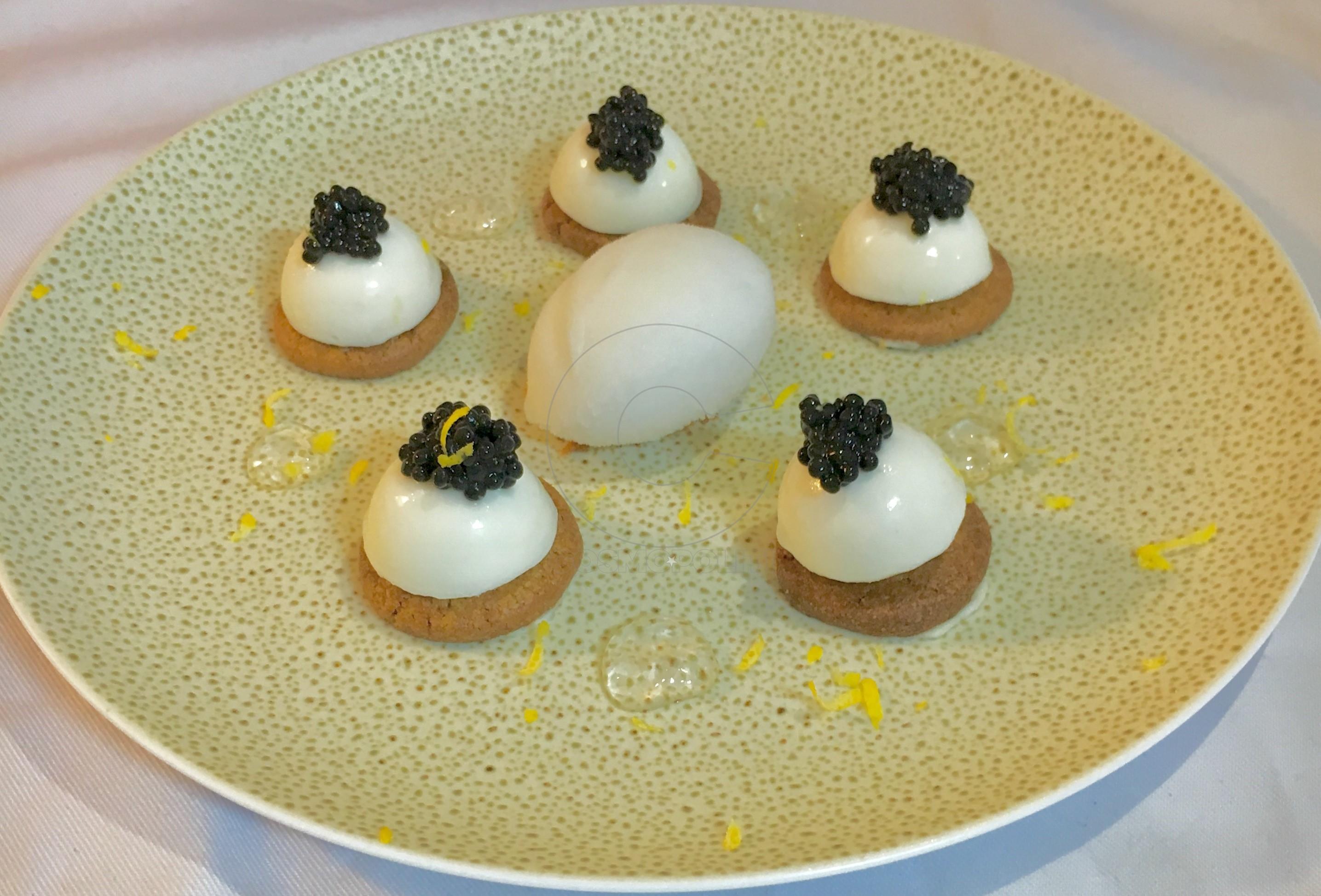 Caviar Cheesecake