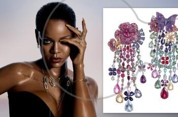 """Νέα συλλογή """"Rihanna Loves Chopard"""""""