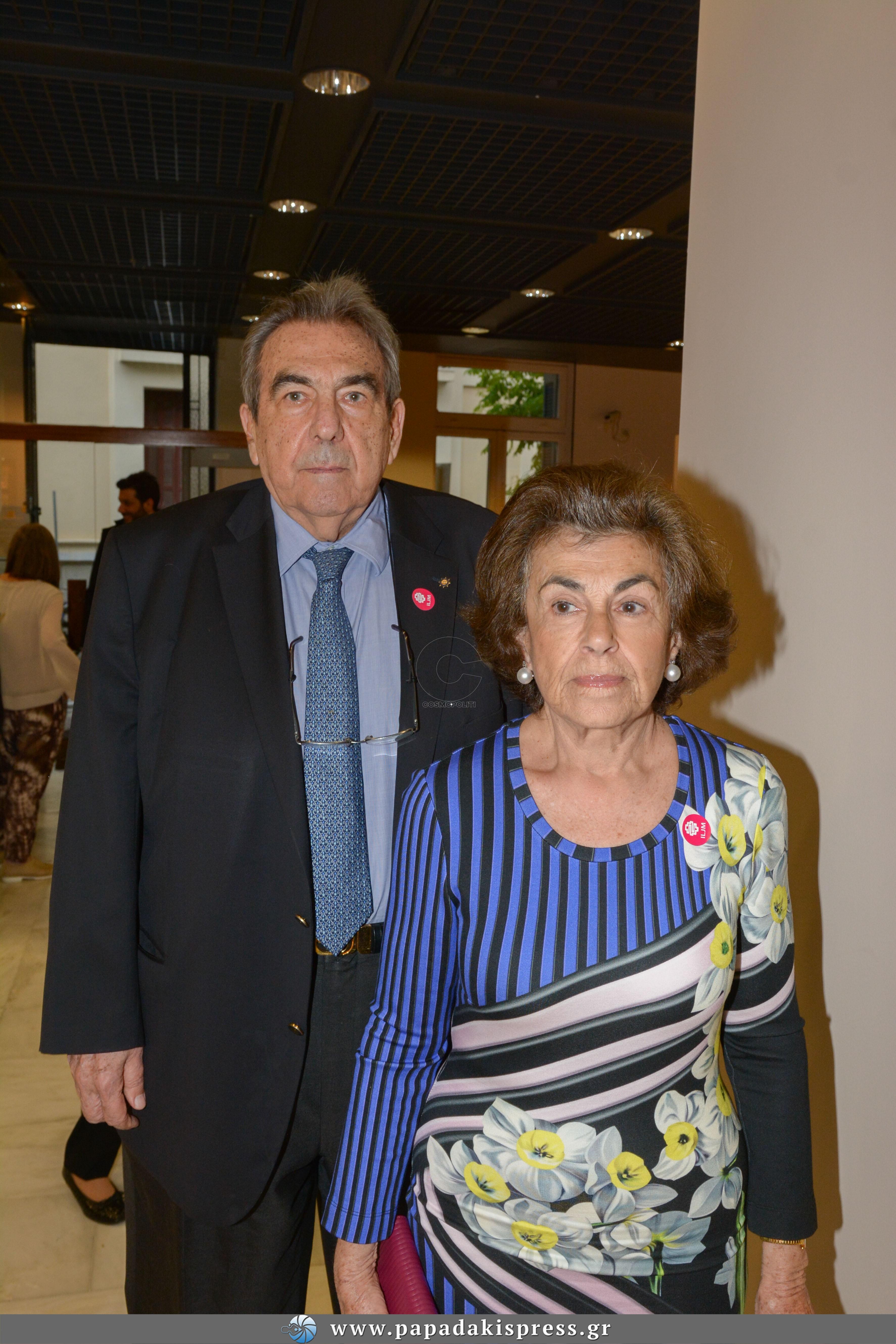Βλάσης Κατράτζος , Κατερίνα Κατράτζου ( γονείς fashion designer Μαίρης Κατράτζου)