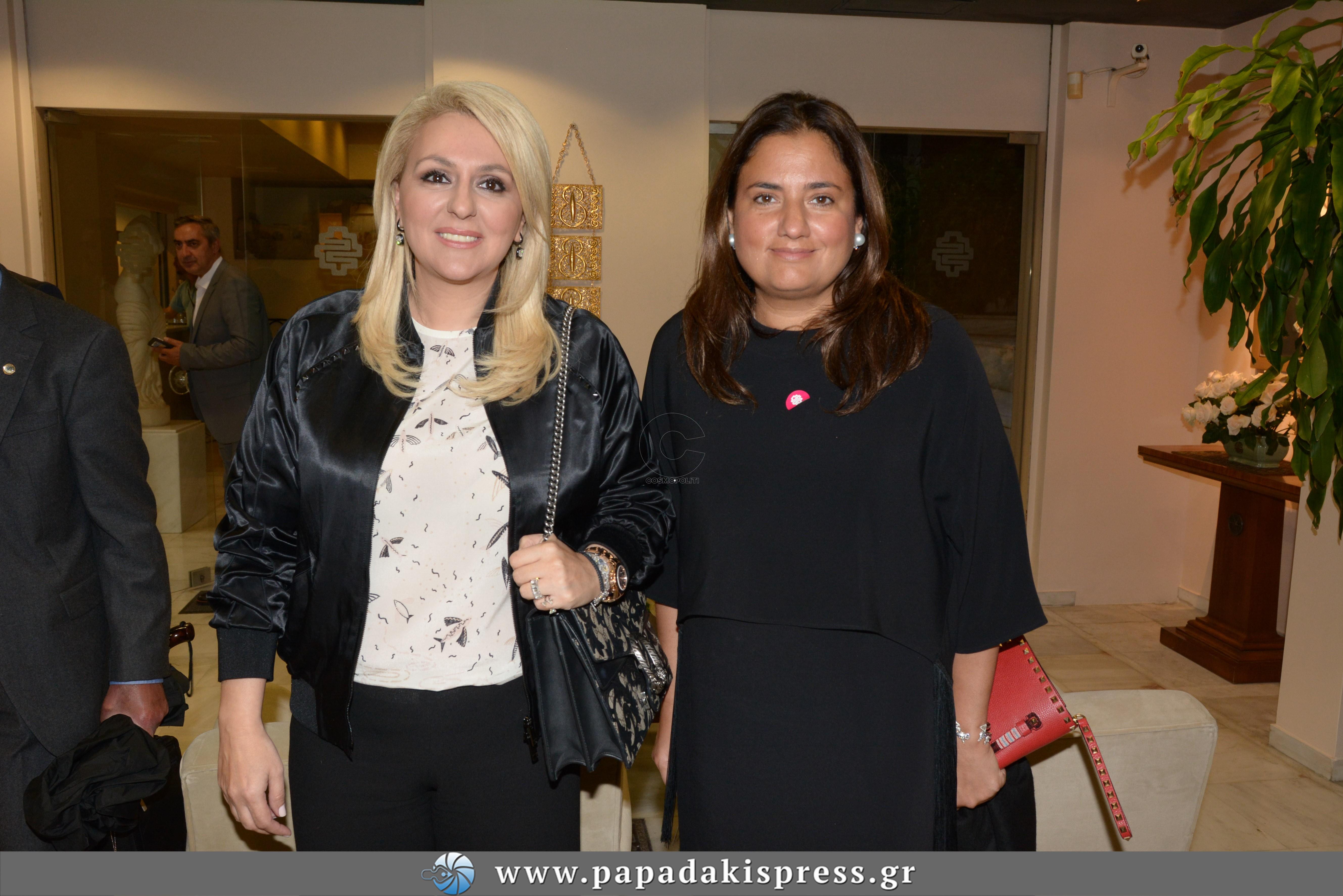 Ρόζμαρι Χατζηιωάννου & Χρύσα Κανελλοπούλου