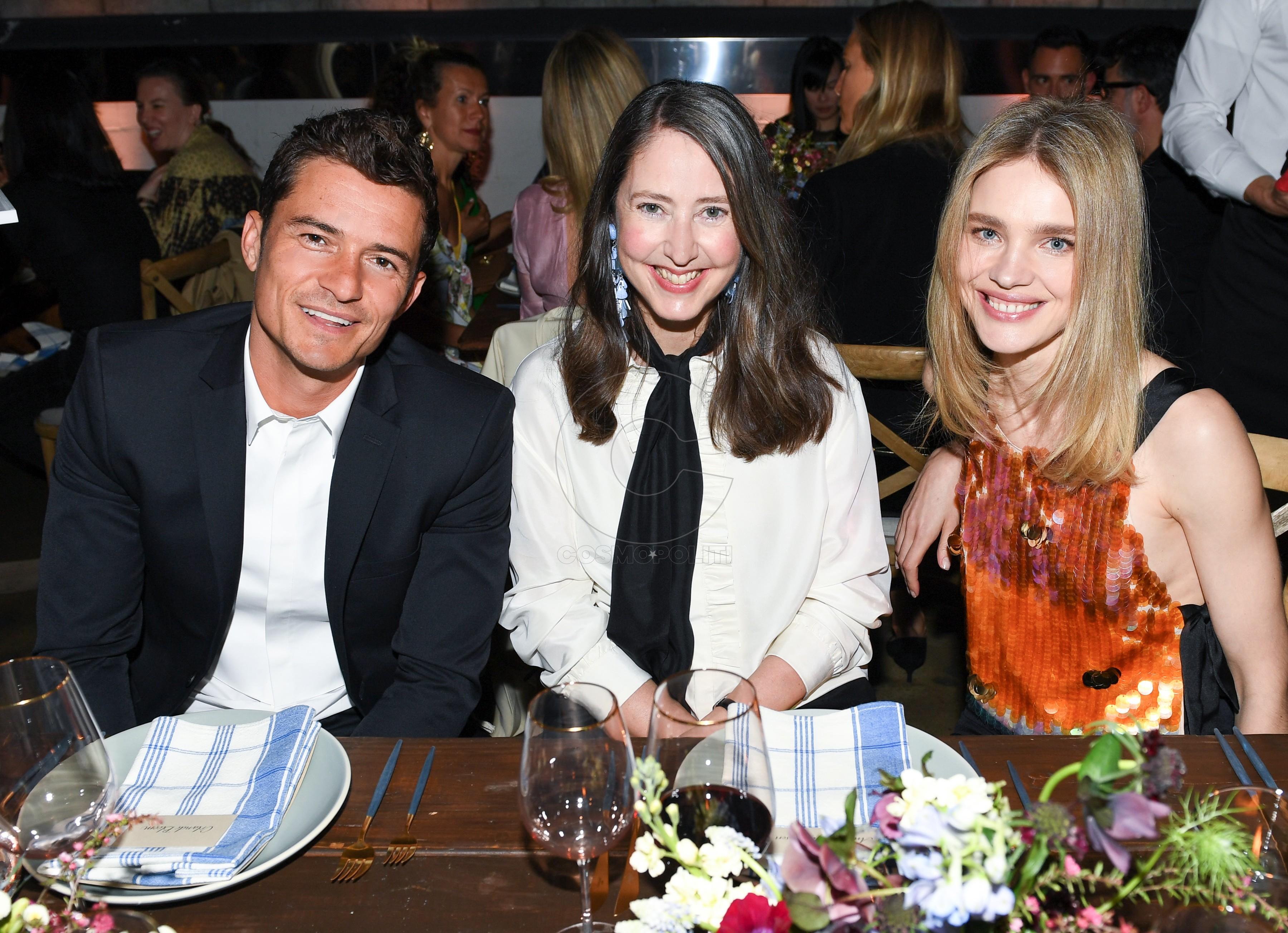 Orlando Bloom, Ann-Sofie Johansson, Natalia Vodianova