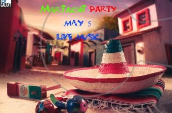 Cinco de Mayo Party στο Galaxy στις 5 Μαϊου