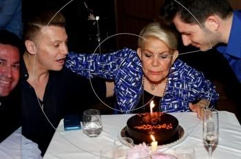 Mαρινέλλα: πάρτι-έκπληξη για τα γενέθλιά της στο Zonars