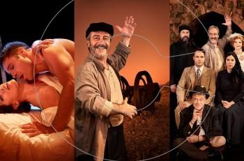 """Aλέξης Ζορμπάς"" με τον Γρηγόρη Βαλτινό: φωτογραφίες και το πρόγραμμα της περιοδείας"