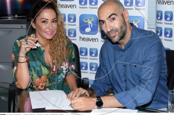 Mελίνα Ασλανίδου: ανανέωση συμβολαίου με τη Heaven Music