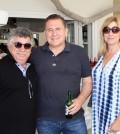 2 Ο σεφ Λευτέρης Λαζάρου με τους Άγγελο & Εύα Ιατρίδη