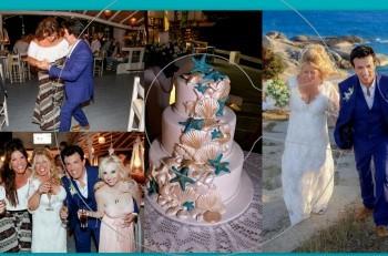 Γάμος στη Νάξο: το γαμήλιο άλμπουμ του Δημήτρη Γιώτη & της Τζωρτζίνας Παγώνη