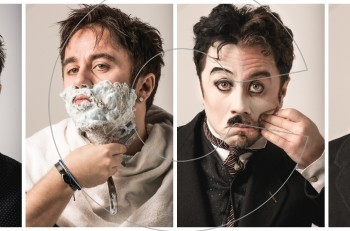 """Ο Θανάσης Τσαλταμπάσης γίνεται """"Τσάρλι Τσάπλιν""""! Για πρώτη φορά στην Ελλάδα στο θέατρο Ακροπόλ"""
