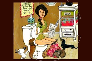 Γιατί σας ακολουθεί στο μπάνιο ο σκύλος σας; Εσείς το γνωρίζετε;