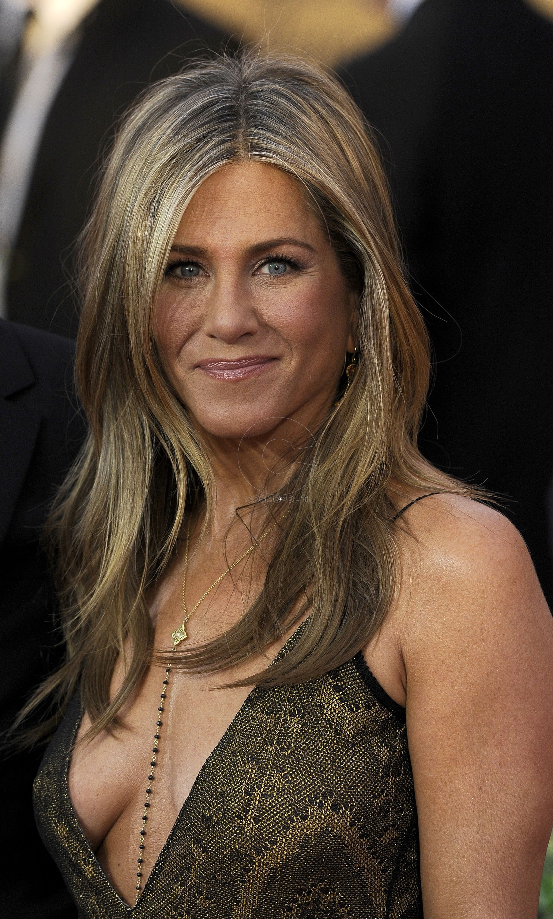 LOS ANGELES, CA - JANUARY 25:  Actress Jennifer Aniston attends TNT's 21st Annual Screen Actors Guild Awards at The Shrine Auditorium on January 25, 2015 in Los Angeles, California.  (Photo by C Flanigan/Getty Images)