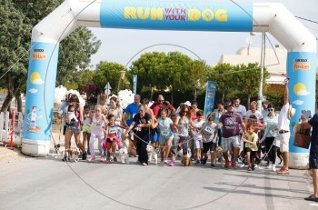 Το 4ο Run with your Dog την Κυριακή 1 Οκτωβρίου