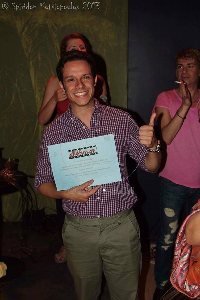 1α βραβεία - Δημήτρης Μακαλιάς