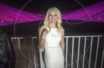 Η Ελένη Μενεγάκη έδωσε το έναυσμα και το Καλλιμάρμαρο έγινε ροζ
