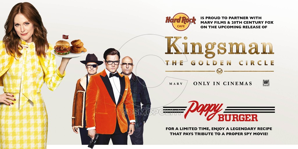 HRC Athens_Kingsman Movie x Poppy Burger