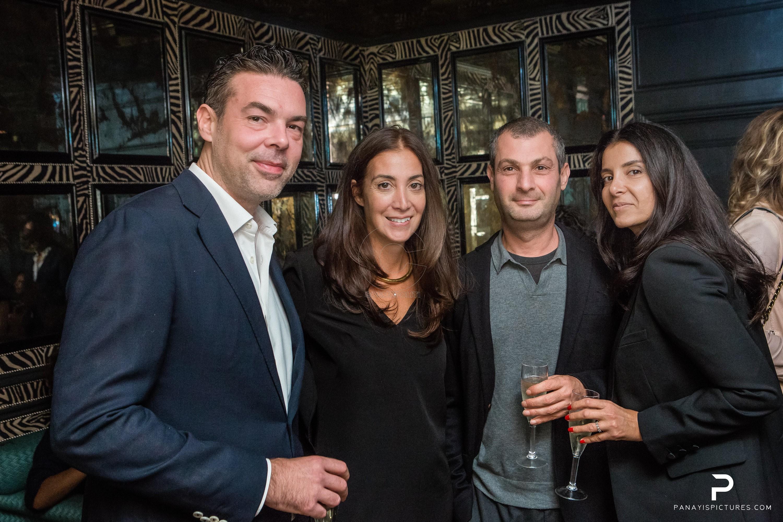 Igor Jalic, Anna Chatzinassiou,Fadi & Kinda Mouawad