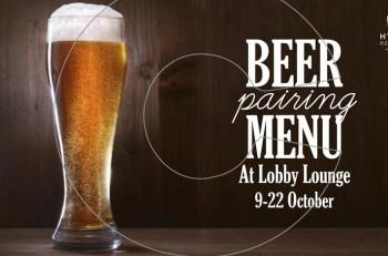 Beer Pairing: 9 με 22 Οκτωβρίου στο Hyatt Regency Thessaloniki