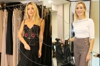 Zέτα Δούκα – Josephine: fitting Κathy Ηeyndels για την 22η Εβδομάδα Μόδας της Αθήνας