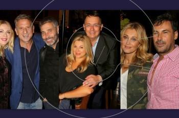 To πάρτι γενεθλίων του Γιάννη Καζανίδη στο City Bistro