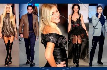Kathy Heyndels & Giannetos Hand Made: Λαμπερό fashion show στην Eλληνική εβδομάδα μόδας