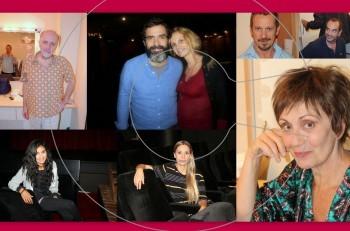 Aύγουστος: επίσκεψη στα καμαρίνια @Θέατρο Χορν
