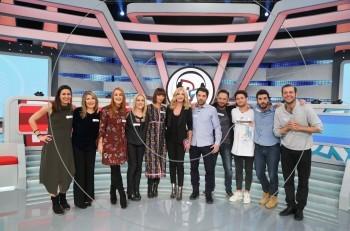 Celebrity Rouk Zouk με τους πρωταγωνιστές του «4xxx4»