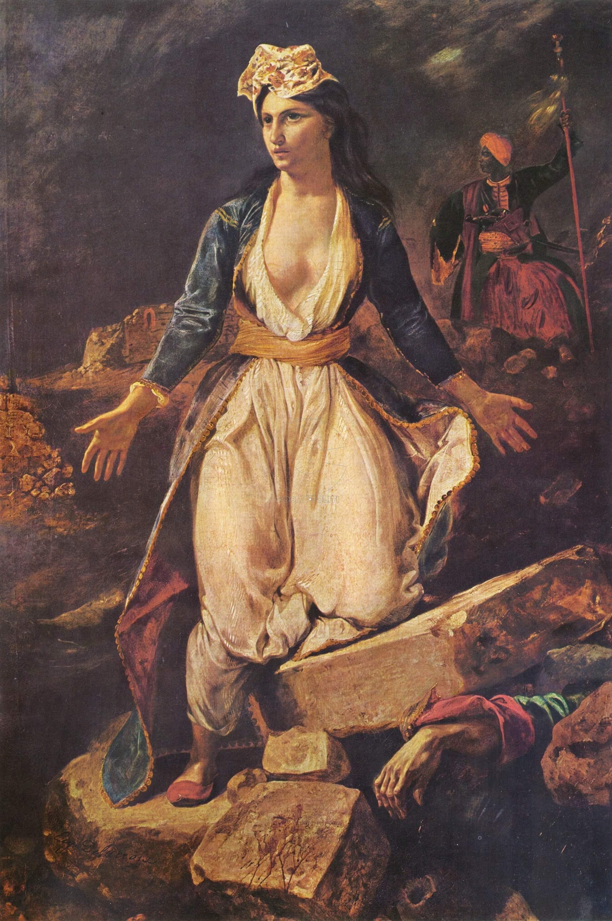Eugène_Delacroix_Grece_Messolonghi