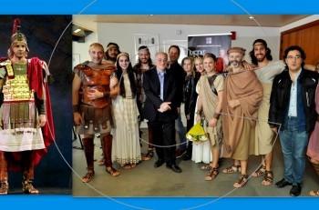 """""""Μέγας Αλέξανδρος"""" με τον Μέμο Μπεγνή: επίσημη πρεμιέρα στο Κέντρο Πολιτισμού «Ελληνικός Κόσμος» του Ιδρύματος Μείζονος Ελληνισμού"""
