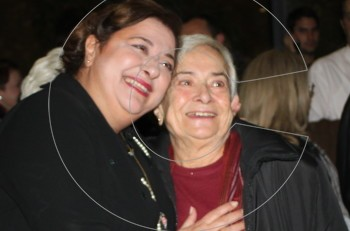 Family affairs: Η Ελισάβετ Κωνσταντινίδου με την μητέρα της