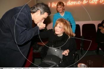 Μαίρη Χρονοπούλου & Νίκος Σταγόπουλος: συνάντηση με χειροφίλημα για το πρώην ζευγάρι