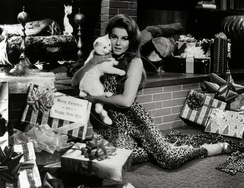 Ann Margaret shows her pussy for Christmas