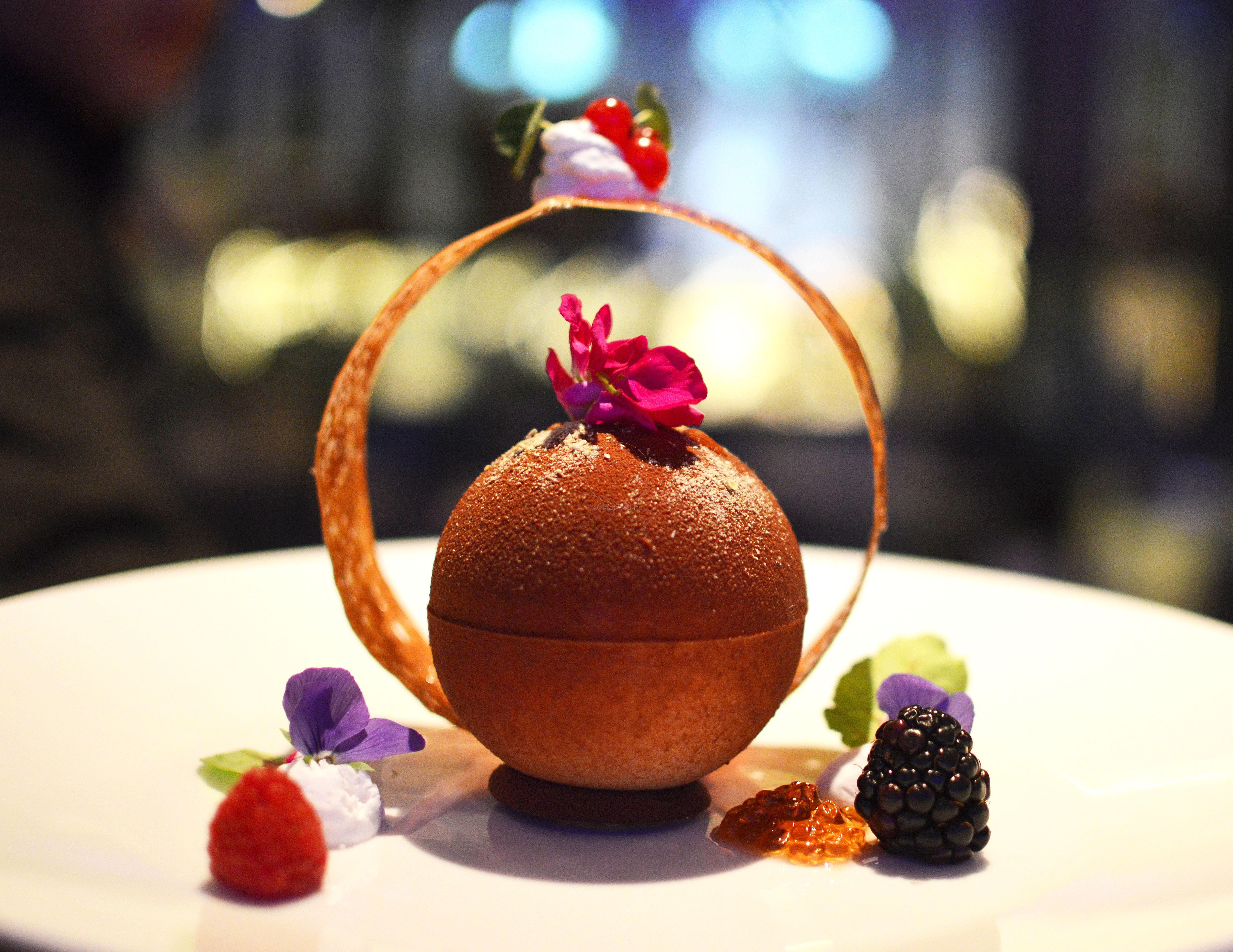 Dark Chocolate sphere