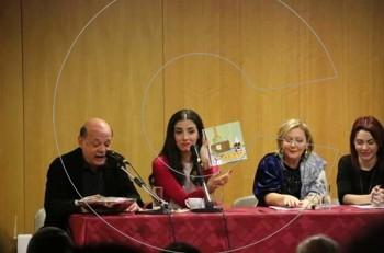 "H Φωτεινή Δάρρα παρουσίασε το νέο εικονογραφημένο παραμύθι ""Τα όνειρα της γιαγιάς Παραμυθούς"""