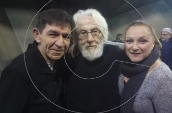 """""""Το τίμημα"""" έκοψε πίτα για το 2018 στο θέατρο Ιλίσια"""
