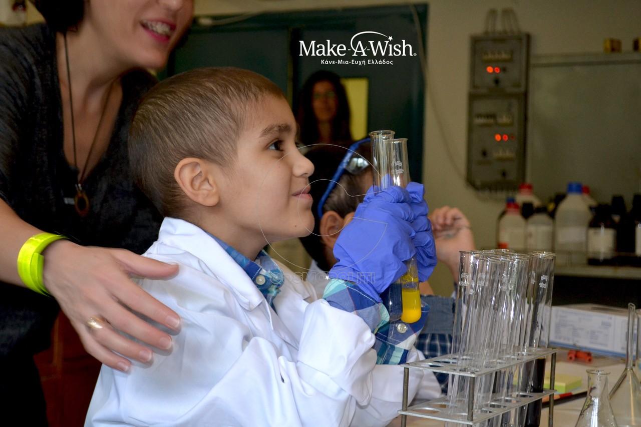 _______, 7... ____ μαι να κάνω πειράματα χημείας σε χημ___ __________