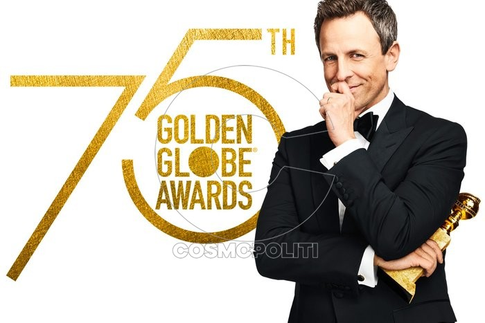 "GOLDEN GLOBE AWARDS (75TH ANNUAL)-- Pictured: ""Golden Globe Awards (75th Annual)"" Key Art -- (Photo by: NBC)"