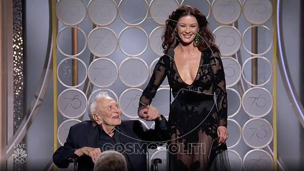 kirk-douglas-catherine-zeta-jones-golden-globes-ftr1