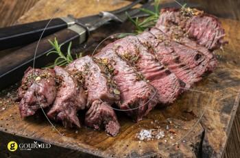 Συνταγή για μπριζόλα ζουμερή στα κάρβουνα