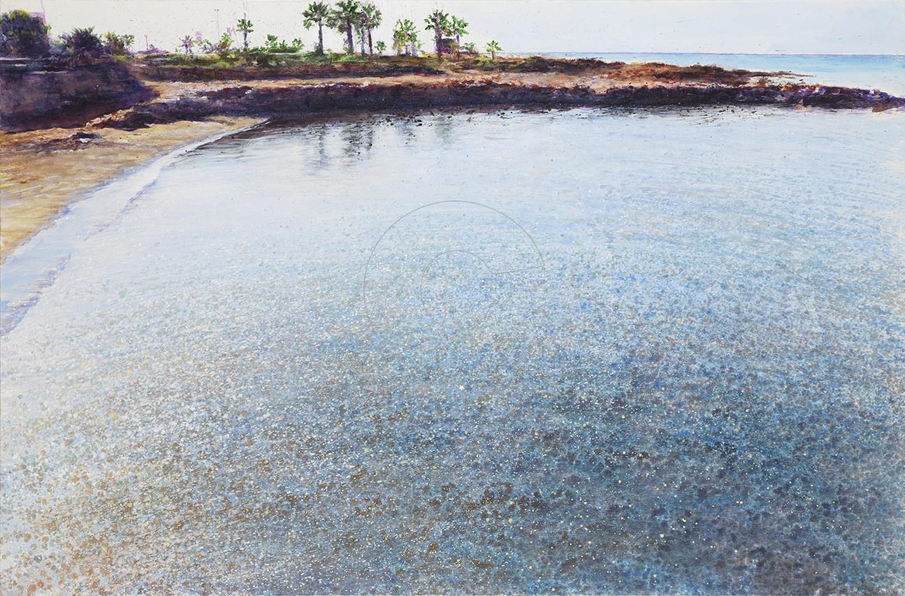 Χρύσα Bέργη, ''Seaside'', 83x127cm, mixed media, 2017