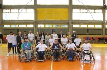 Φιλικός αγώνας μπάσκετ στην Αθήνα για την Εθνική Ημέρα Αθλητισμού του Κατάρ