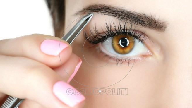 eyebrow-plucking