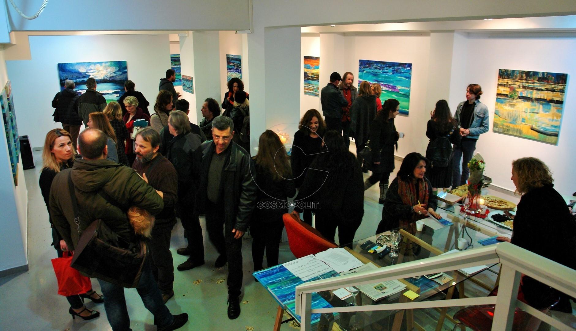 Φιλότεχνοι κατέκλυσαν τον χώρο της ArtΠρίσμα Gallery