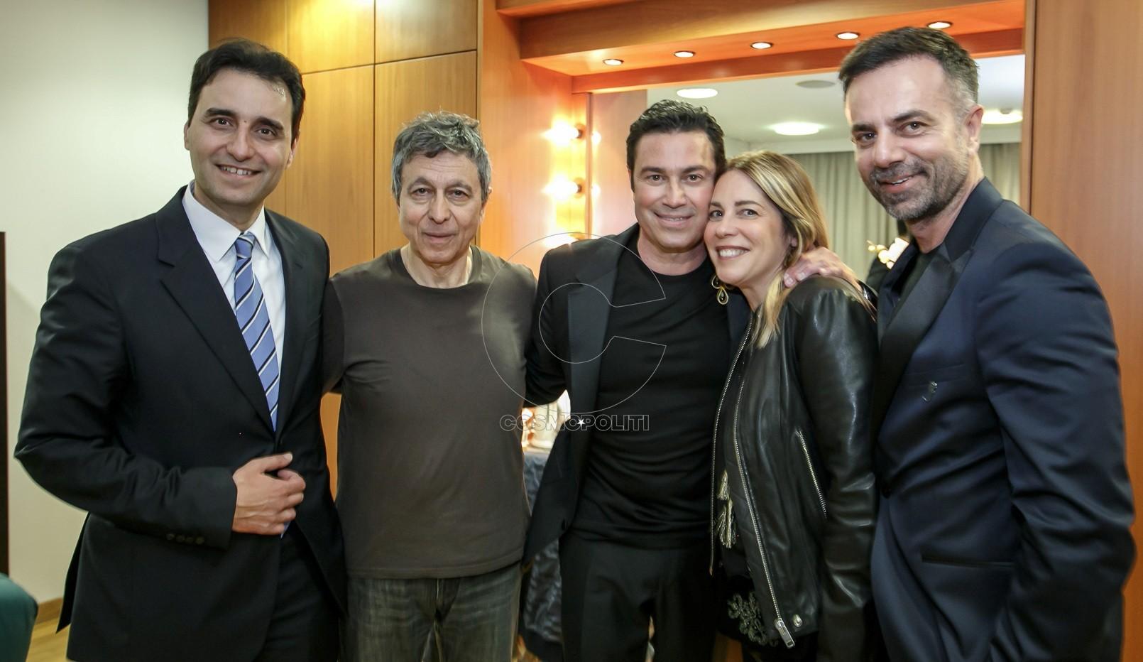 3 Νίκος Πέντζος, Λουκάς Καρυτινός, Μάριος Φραγκούλης, Χριστίνα Τζελέπογλου, Αλέξανδρος Κωτσιόπουλος