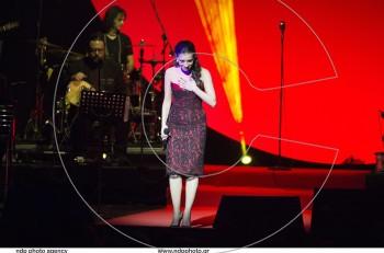 Η Φωτεινή Δάρρα συγκίνησε στα τραγούδια της Τζένης Βάνου στο κατάμεστο Παλλάς