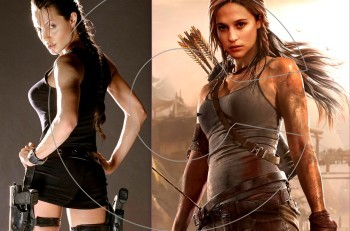 Lara Croft:  Αντζελίνα Τζολί εναντίον Αλίσια Βικάντερ. Ποια είναι η καλύτερη;