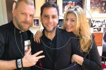 """Γιώργος Μαζωνάκης: βραδινή έξοδος στο ξεκαρδιστικό """"Τοc Toc"""" @θέατρο Ήβη"""
