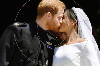 O παραμυθένιος γάμος σφραγίστηκε με ένα φιλί